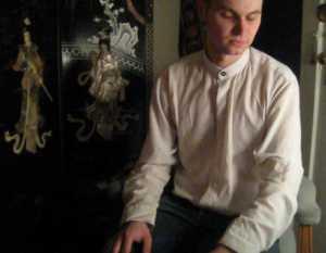 Brother meditating, Julian Lee, Portland